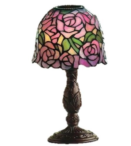 partylite rosewater lamp now retired beautiful mosaic home decor cand. Black Bedroom Furniture Sets. Home Design Ideas