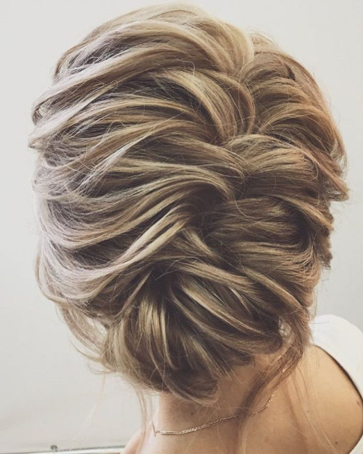 25 unique medium updo hairstyles ideas on pinterest bridesmaid looking unforgettable on the wedding day whether you are looking for wedding hairstyles for bridesmaids junglespirit Images