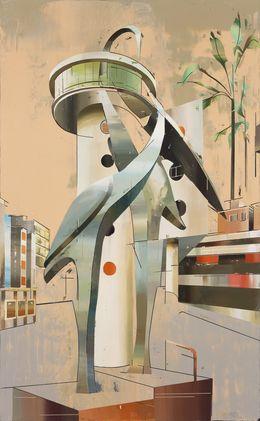 Cui Jie, 'Building of Cranes #2,' 2014, Leo Xu Projects