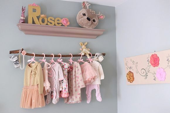 la chambre b b de rose roses vintage vintage et chambres de b b. Black Bedroom Furniture Sets. Home Design Ideas