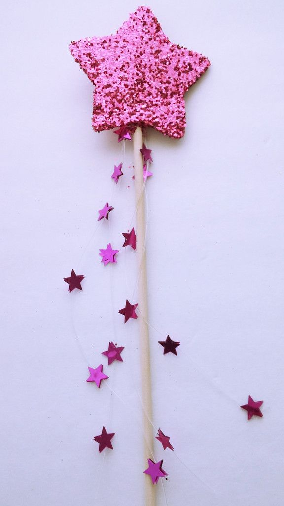 pink glitter star fairy wand party favors pinterest fairy wands glitter stars and pink. Black Bedroom Furniture Sets. Home Design Ideas