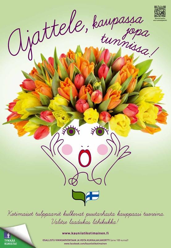 Kauniisti kotimainen - Ajattele, kaupassa jopa tunnissa! 2012