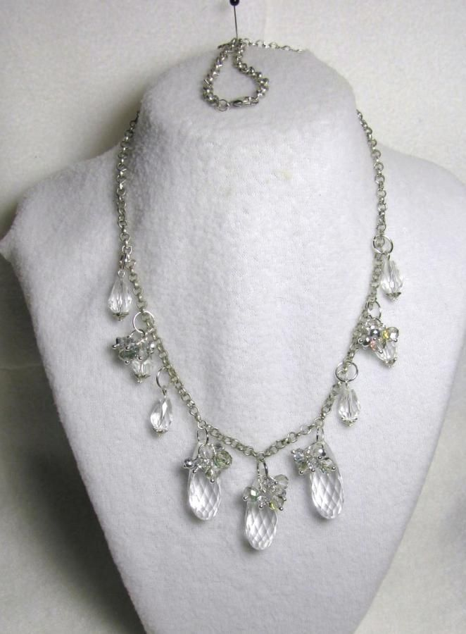 Teardrop Waterfall - Jewelry creation by Linda Foust