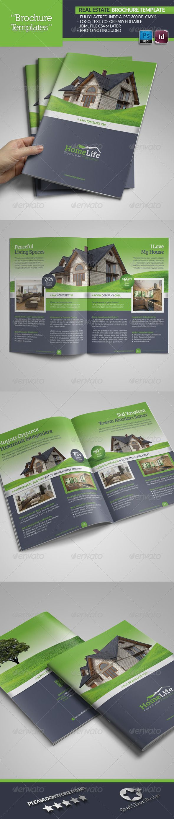 Real Estate Brochure Template  #GraphicRiver        Real Estate Brochure Template  Fully layered INDD   Fully layered PSD   300 Dpi, CMYK   IDML format open Indesign CS4 or later  Completely editable, print ready  Text/Font or Color can be altered as needed  All Image are in vector format, so can customise easily  Photos are not included in the file  Font File: Lato Font:  .fontsquirrel /fonts/lato Bree-serif:  .fontsquirrel /fonts/bree-serif   Help.txt file     Created: 29July13…