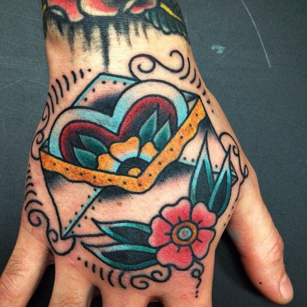 Not into tattooing my hands, but the tattoo itself is super cute.