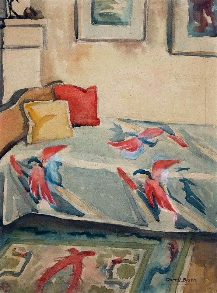 Dorrit Black (1891-1951), Australia, Corner of the Studio