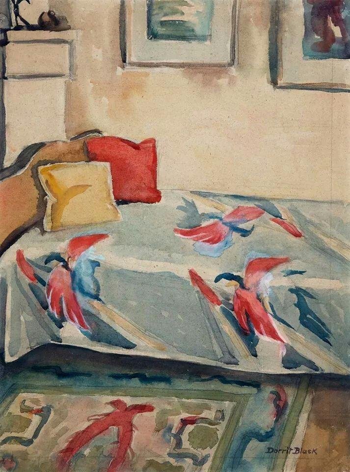 Dorrit Black (1891-1951), Australia, Corner of the Studio