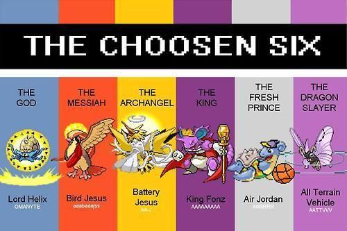 Twitch Plays Pokemon - The Chosen Six