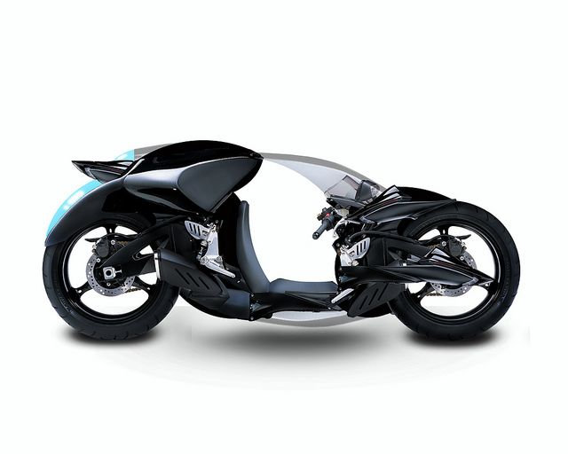 Suzuki GSX-R Hiroshima 1500cc. Wow. I'm not sure what to think about this, but the industrial design of it is lovely.