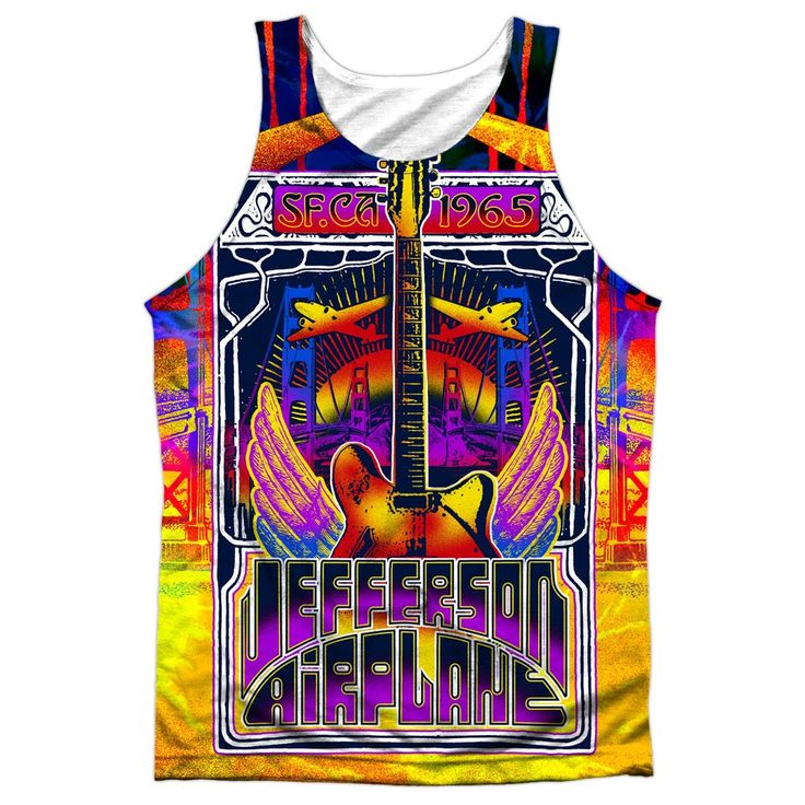 """Checkout our #LicensedGear products FREE SHIPPING + 10% OFF Coupon Code """"Official"""" Jefferson Airplane/san Francisco-adult 100% Poly Tank T- Shirt - Jefferson Airplane/san Francisco-adult 100% Poly Tank T- Shirt - Price: $24.99. Buy now at https://officiallylicensedgear.com/jefferson-airplane-san-francisco-adult-100-poly-tank-t-shirt-licensed"""