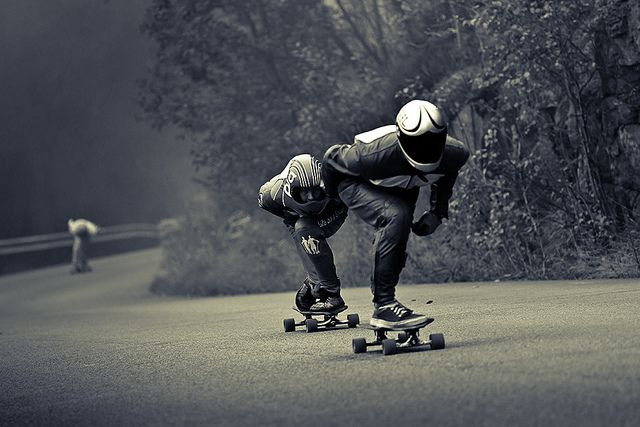 Longboarders. By Svein Nordrum (Source: flickr)