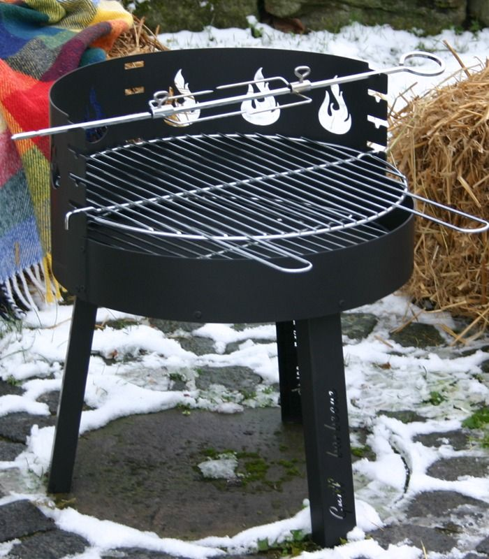 Campinggrill Schwarz Camping Grill Bester Grill Holzkohlegrill