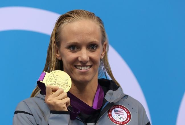 Dana Vollmer: Olympic Gold Medalist Has the Heart of a Champion