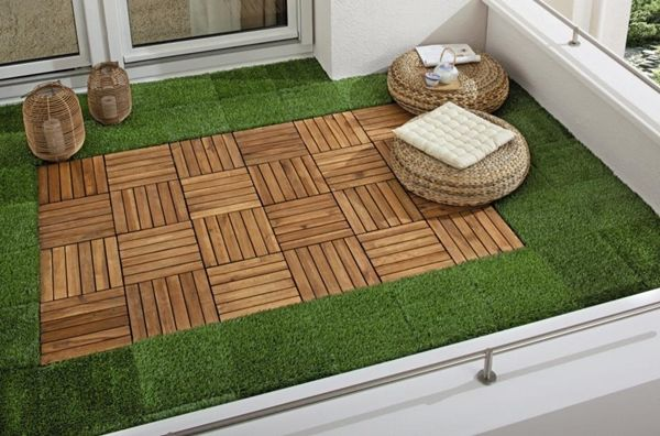 Ideas geniales para decorar tu pequeña terraza o balcón. www.virginiaesber.es