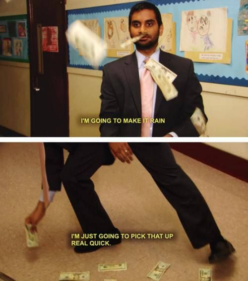 Tom in Parks and Recreation