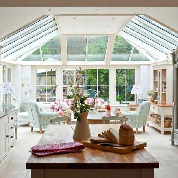 17 best images about kitchen extension on pinterest rear for Conservatory kitchen extension ideas
