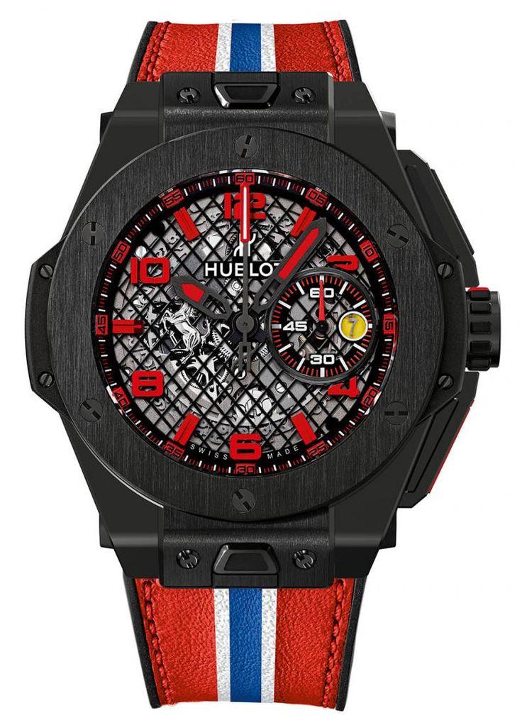 Hublot 401.CX.1123.VR Big Bang Unico Ferrari 2015 Black Ceramic. #Hublot