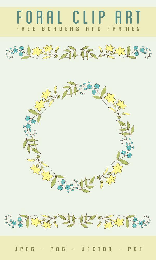 stock images, flower images, flower borders, borders and frames, circle borders, vector art stock, flower vector art,