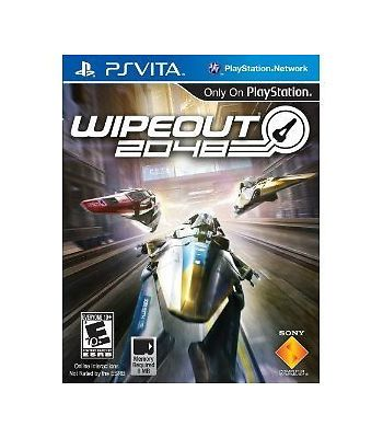Wipeout 2048 GAME (Sony PlayStation Vita) PS **FREE SHIPPING!!