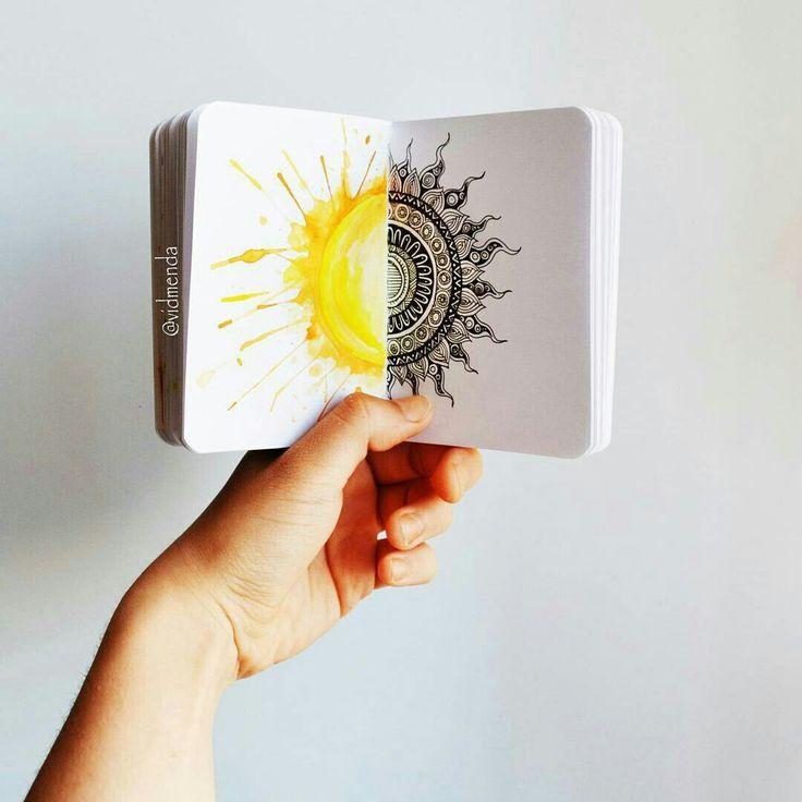 Скетчбук  Рисунок Идеи