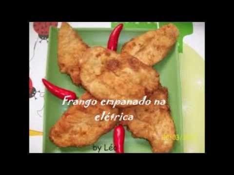Receita de Filé de Frango Empanado na Airfryer
