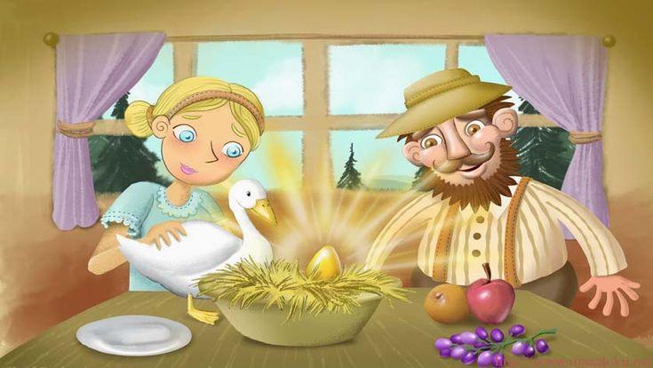 Altın Yumurtlayan Kaz Masalı Oku