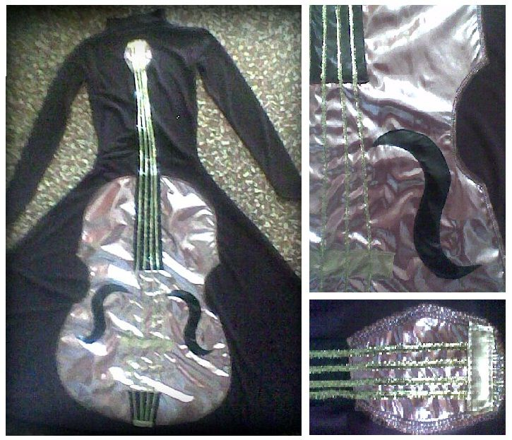 Clothes violin