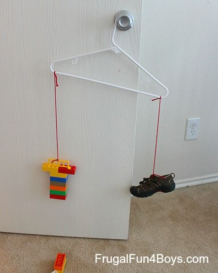 Lego Math:  How many Legos does it weigh? from Frugal Fun For Boys