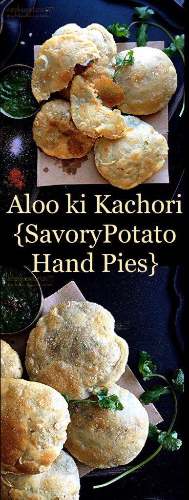 Aloo ki Chatpati Kachori {spicy savory potato hand pies}