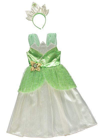 Disney Princess Tiana Fancy Dress Costume, read reviews and buy online at George at ASDA. Shop from our latest range in Kids. This stunning Tiana dress is si...