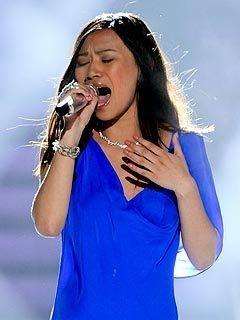 Jessica Sanchez nails Whitney Houston song on American Idol!