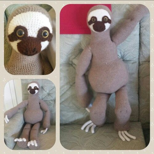 17 Best images about AMIGURUMI - Sloths on Pinterest ...
