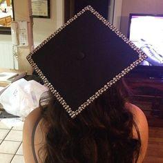 Simple and classy grad cap