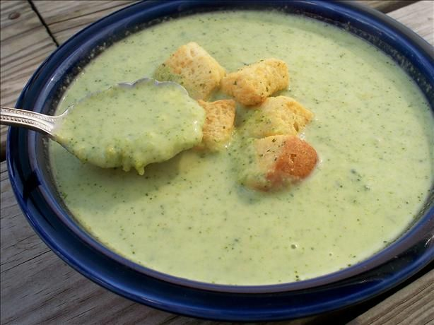 Curried Cream of Broccoli Soup. Photo by *Parsley*