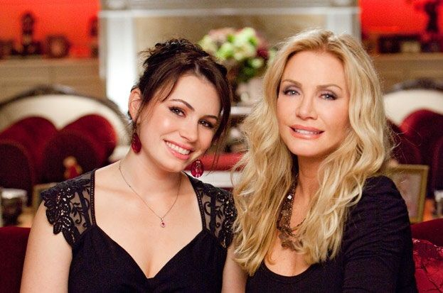 Shannon Tweed Simmons with her daughter Sophie Tweed-Simmons.