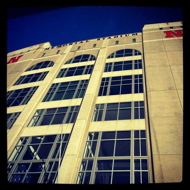 Memorial Stadium. Lincoln, Nebraska. Home of the Huskers. Go Big Red!