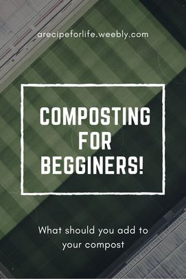 See what I've been adding to my compost! Composting for begginers! A small list of what I've learned to add and what not to add.