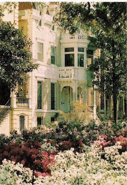 Azaleas Around The Home In Movie Midnight Garden Of Good And Evil