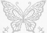 Centrino con farfalla