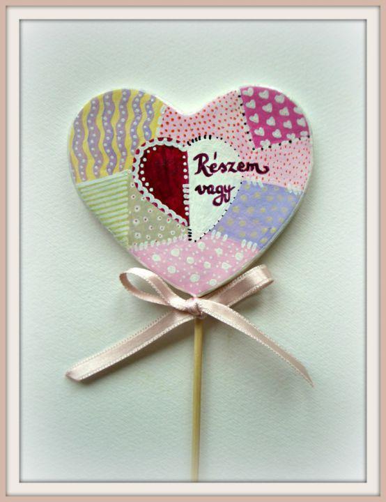 Paintwork heart by http://www.breslo.hu/item/Paintwork-sziv_2477#