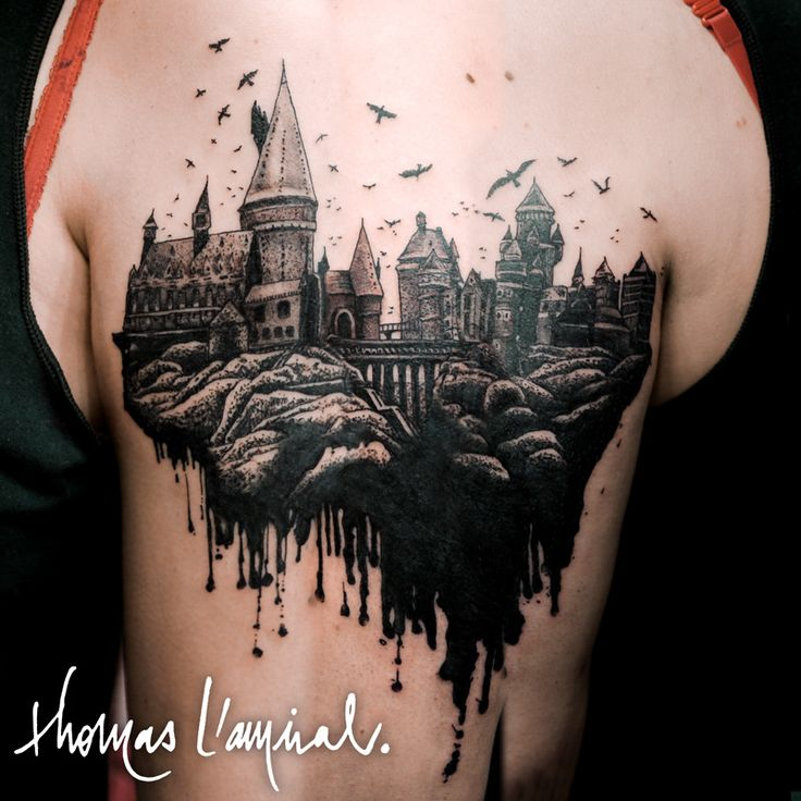 25 best ideas about hogwarts tattoo on pinterest harry potter tattoos hp tattoo and harry. Black Bedroom Furniture Sets. Home Design Ideas