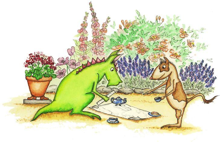 Guide för att planera trädgård (4 steg). Bra upplägg.