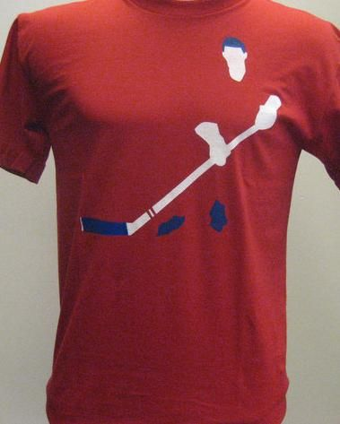Hockey player t-shirt for men from Montrealité