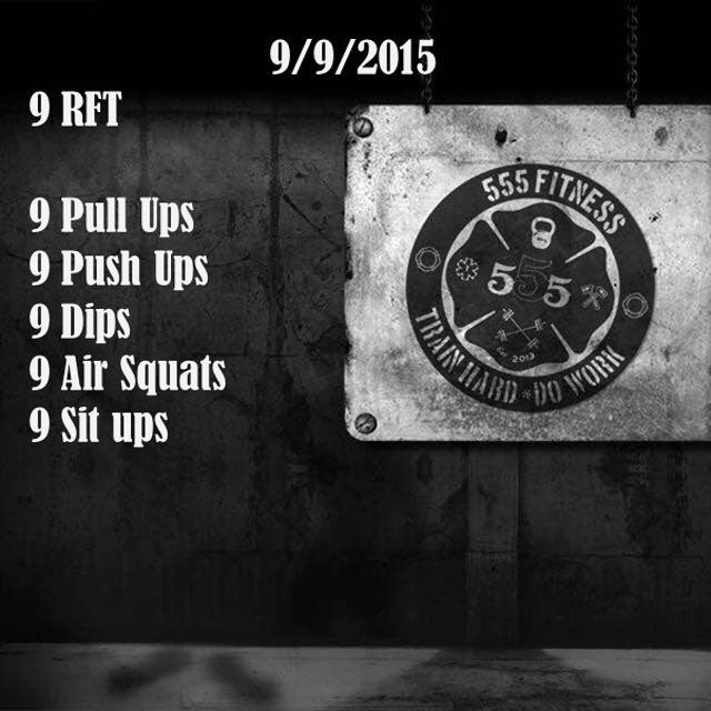 Reps For Time workout