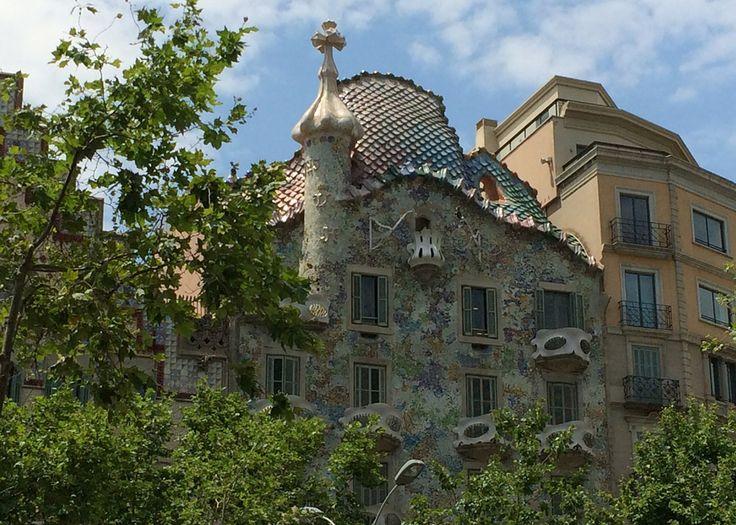 Kurzurlaub Barcelona mit Kindern Reisebericht Blog Blogger Reiseblog Familie Aktivitäten, Barcelona von oben