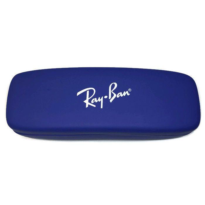 Ray Ban Eyeglasses Sunglasses Glasses Fashion Designer BLUE Hard Case ONLY | eBay