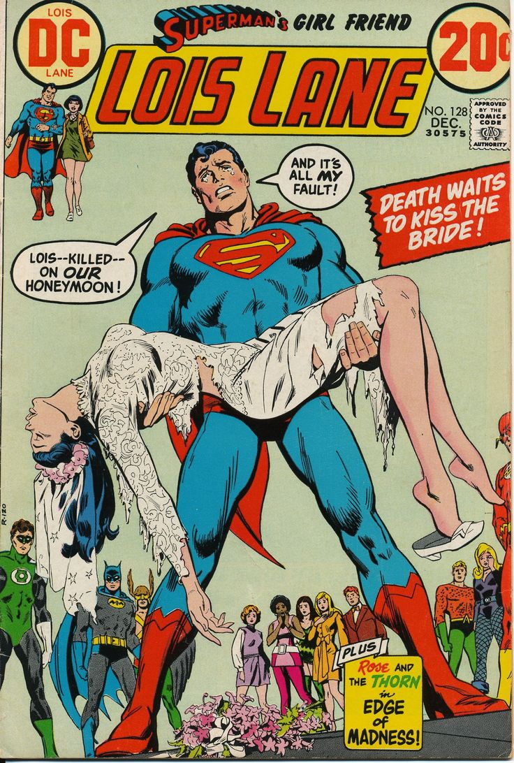 """""""Lois Lane"""" Comic Book .. Superman""""Comic Book Series... Sold for 20 cents."""