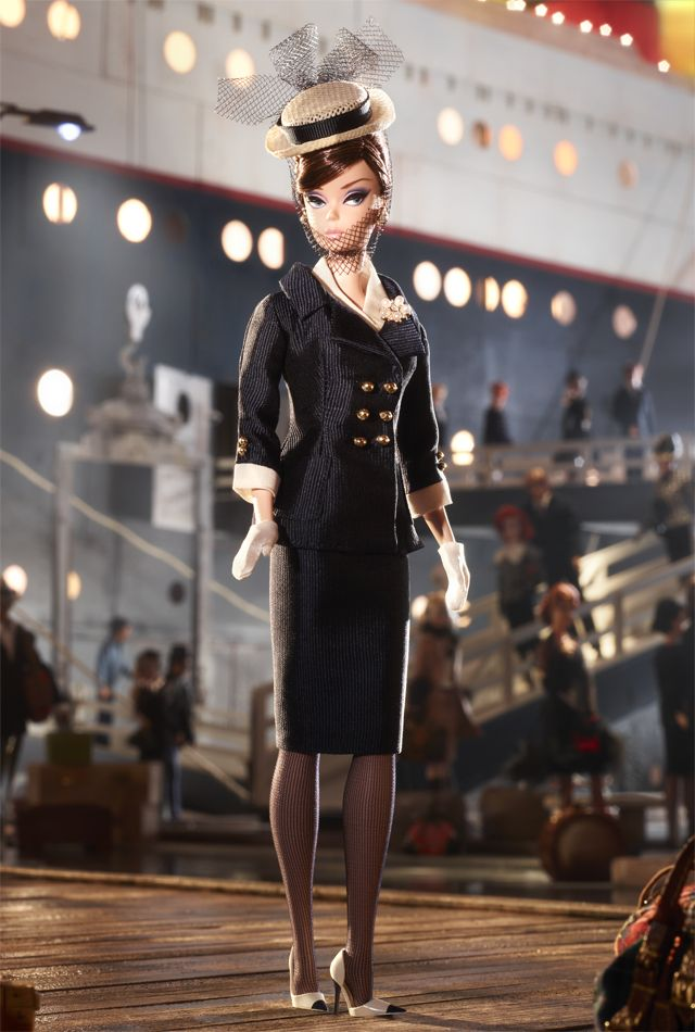 Boater Ensemble Barbie® Doll | Barbie Collector