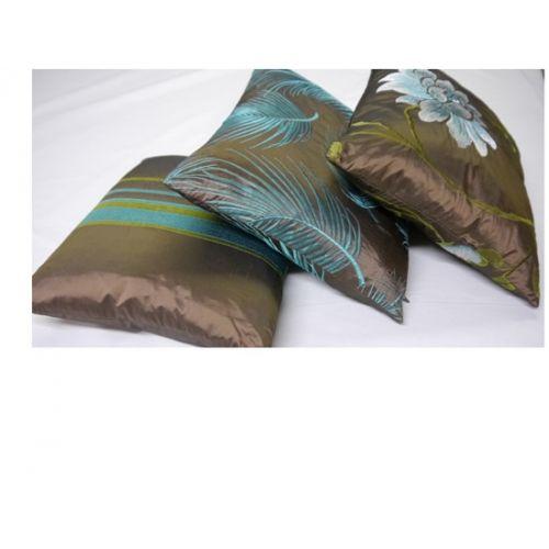 Portobello Trio Cushion Set, Chocolate