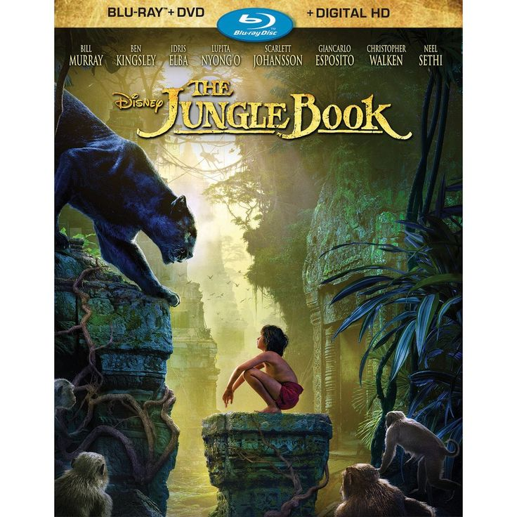 The Jungle Book (Blu-ray/Dvd + Digital)
